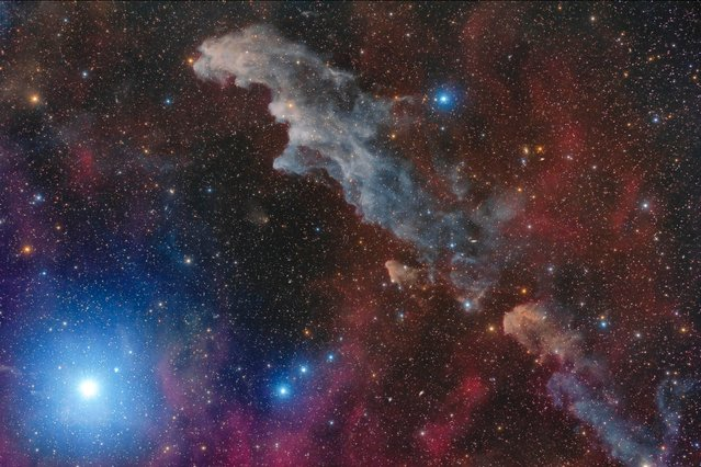 The competition is run by Royal Observatory Greenwich sponsored by Insight Investment and in association with BBC Sky at Night Magazine. This year astrophotographers from 91 countries sent in more than 4,200 spectacular entries. Here: Rigel and the Witch Head Nebula, taken by Mario Cogo from Namibia. (Photo by Mario Cogo/Astronomy Photographer of the Year 2018)
