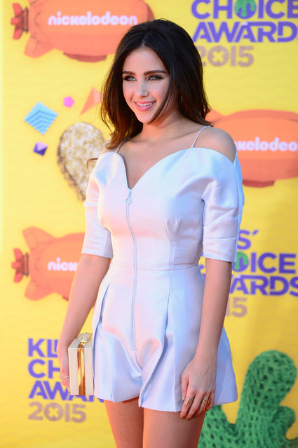 Actress Ryan Newman attends Nickelodeon's 28th Annual Kids' Choice Awards held at The Forum on March 28, 2015 in Inglewood, California. (Photo by Frazer Harrison/Getty Images)