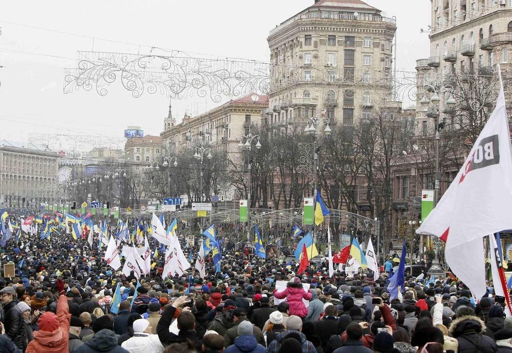 Pro-EU Protests in Kiev