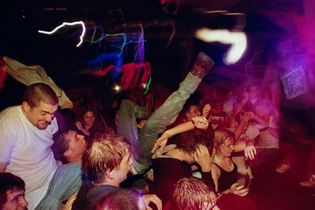 "Originally published in February, this story analyzing dancers in mosh pits proves that researchers really will study anything. ""To most scientists, heavy metal refers to elements on the lower end of the periodic table"", writes Nicholas Mott. (Photo by Lynn Johnson/National Geographic)"