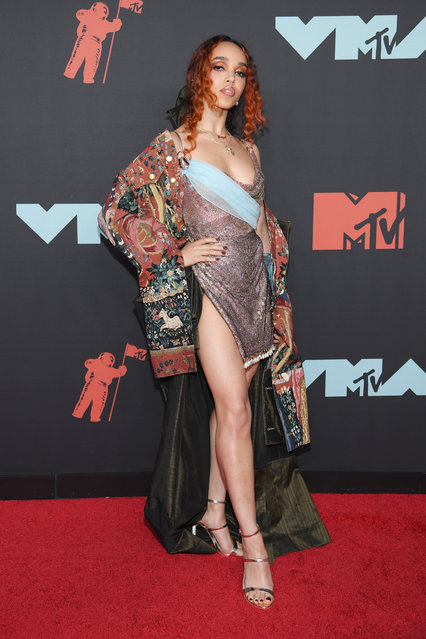 FKA twigs attends the 2019 MTV Video Music Awards at Prudential Center on August 26, 2019 in Newark, New Jersey. (Photo by Dimitrios Kambouris/Getty Images)