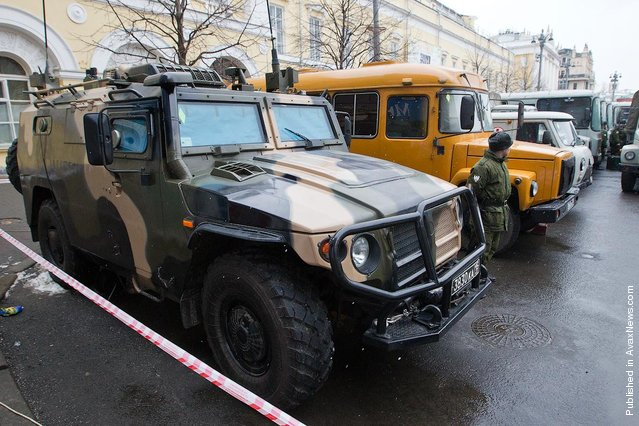 Russians Go To The Polls In Presidential Election And The Kremlin Prepares For Protests