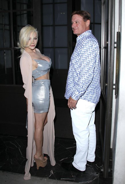Courtney Stodden is seen on June 22, 2017 in Los Angeles, California. (Photo by Splash News and Pictures)