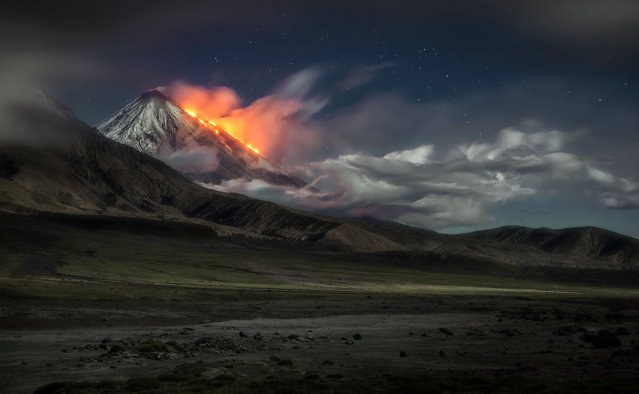 The stunning Kamchatka Peninsula, Russia. (Photo by Vladimir Voychuk/Caters News)
