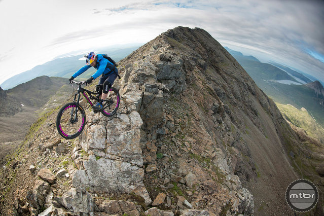 Danny MacAskill Rides The Island Of Skye, Scotland