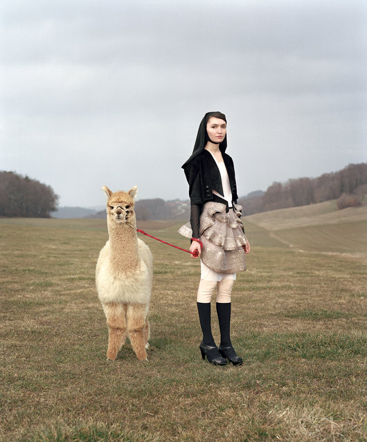 """Tatiana and Belene, from the series Venus & Furs"". Taylor Wessing photographic portrait prize 2011. (Photo by Yann Gross)"