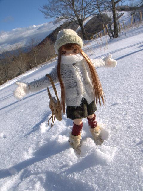"""""""Snow field"""". (Mikeyan Tamano)"""