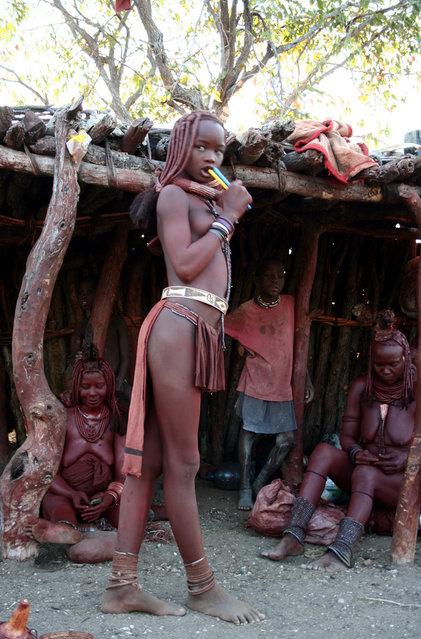 Himba Beauty Girl. Photo by Tendance Evasion