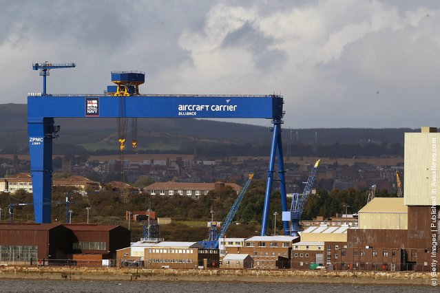 Goliath, one of Europe's largest cranes
