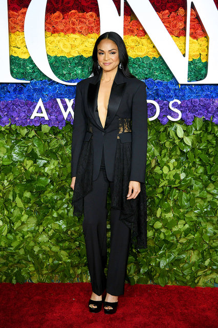 Karen Olivo attends the 73rd Annual Tony Awards at Radio City Music Hall on June 09, 2019 in New York City. (Photo by Dimitrios Kambouris/Getty Images for Tony Awards Productions)