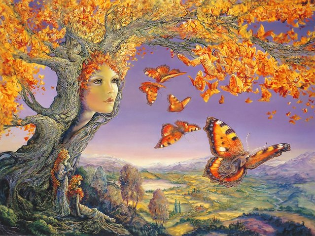 Paintings By Josephine Wall