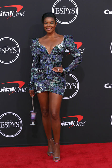 Gabrielle Union attends The 2019 ESPYs at Microsoft Theater on July 10, 2019 in Los Angeles, California. (Photo by Phillip Faraone/FilmMagic)