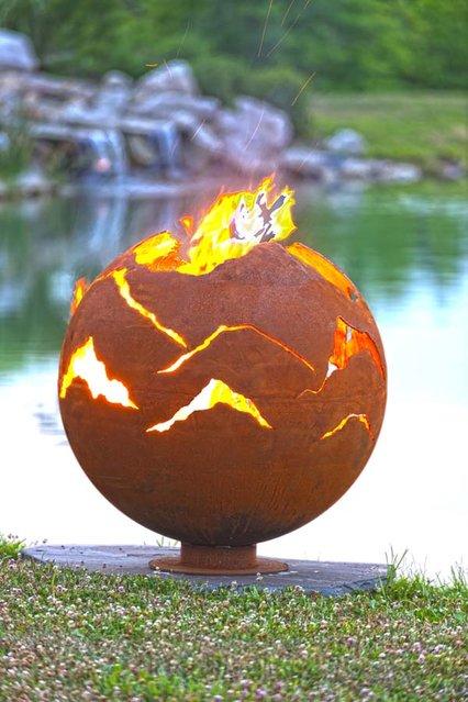 Fire Pit By Melissa Crisp