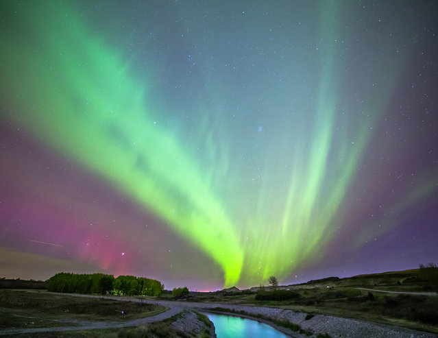I'm striving to capture the perfect image of the aurora - the addiction is one that gets into your blood. (Photo by Neil Zeller/Caters News)