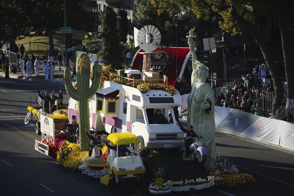 Rose Parade in California
