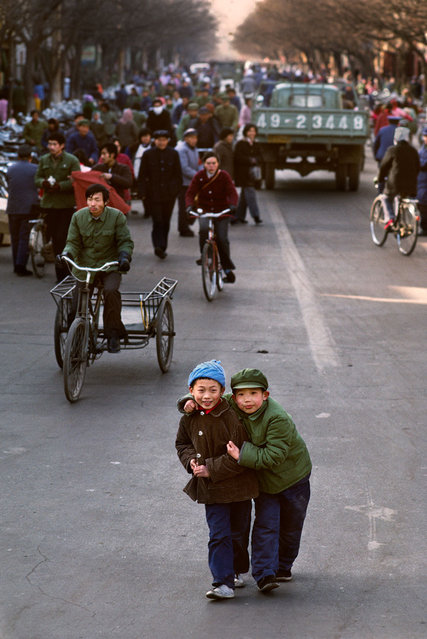 Luoyang, China. (Photo by Steve McCurry)