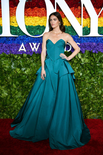 Hilary Rhoda attends the 73rd Annual Tony Awards at Radio City Music Hall on June 09, 2019 in New York City. (Photo by Dimitrios Kambouris/Getty Images for Tony Awards Productions)