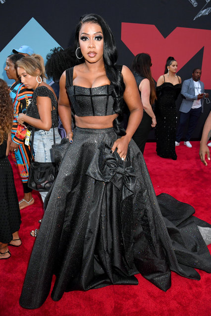 Remy Ma attends the 2019 MTV Video Music Awards at Prudential Center on August 26, 2019 in Newark, New Jersey. (Photo by Jeff Kravitz/FilmMagic)