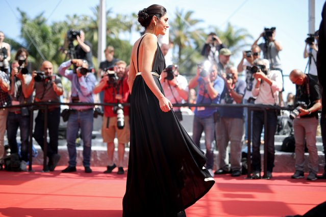"Golshifteh Farahani attends the ""Paterson"" premiere during the 69th annual Cannes Film Festival at the Palais des Festivals on May 16, 2016 in Cannes, France. (Photo by Andreas Rentz/Getty Images)"