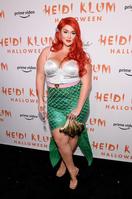 Hunter McGrady attends Heidi Klum's 20th Annual Halloween Party presented by Amazon Prime Video and SVEDKA Vodka at Cathédrale New York on October 31, 2019 in New York City. (Photo by Noam Galai/Getty Images for Heidi Klum)