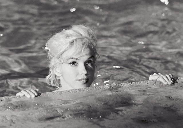Marilyn's pool scene in Something's Got to Give called on her to try to playfully entice her costar, Dean Martin, into the water with her