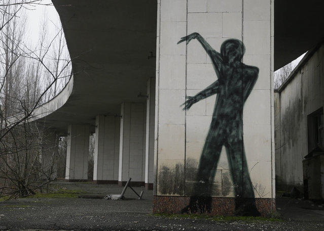 A  view of an underpass in the deserted town of Pripyat near the closed Chernobyl nuclear power plant  Ukraine November 27, 2012. (Photo by Efrem Lukatsky/AP Photo)