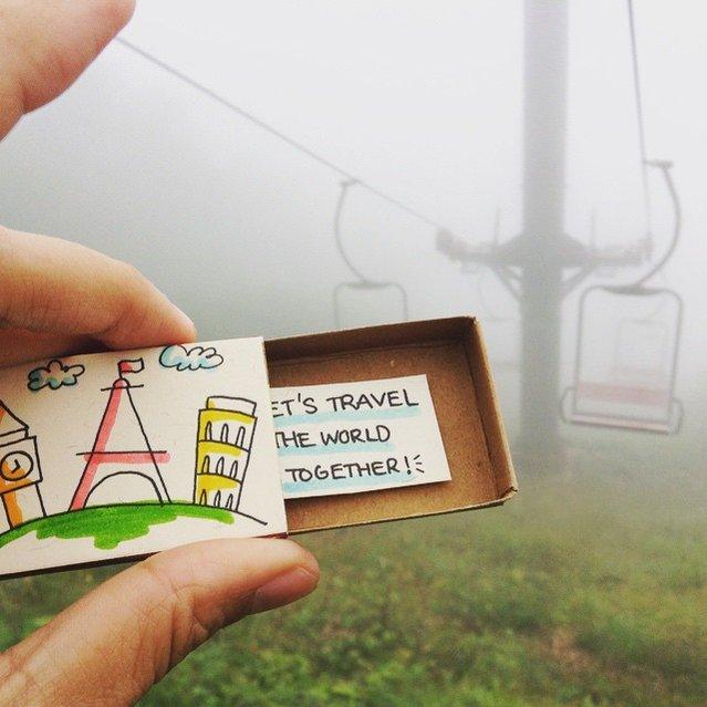 Handmade Matchbox-Cards By Shop3xu