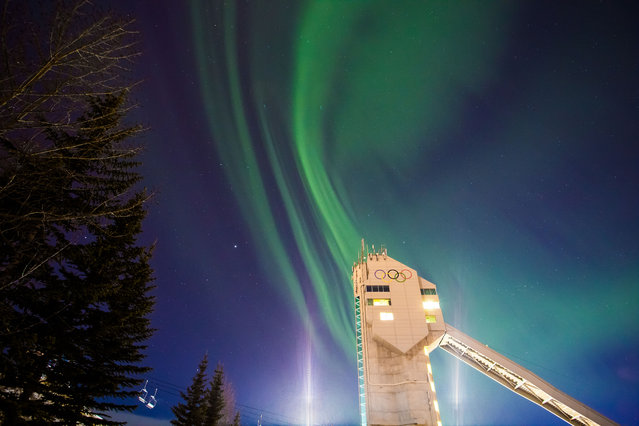 When rewarded with a wonderful aurora show, and executing the photos to match, it's second to none for pure satisfaction in my line of work. (Photo by Neil Zeller/Caters News)