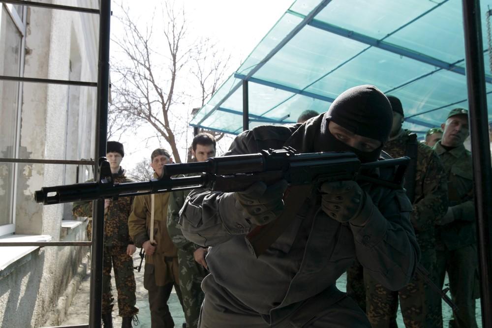 """Russian Knights"" Military Patriotic Club in Stavropol"