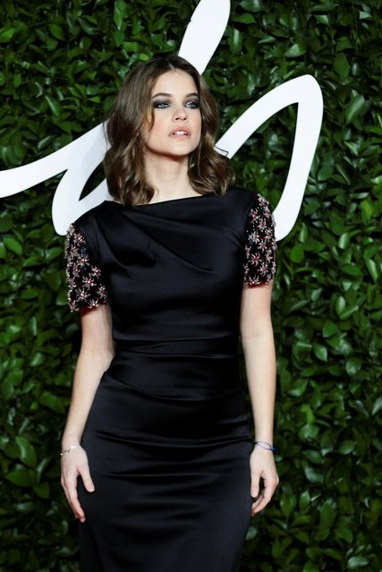 Model Barbara Palvin arrives at The Fashion Awards 2019 held at Royal Albert Hall on December 02, 2019 in London, England. (Photo by Lisi Niesner/Reuters)