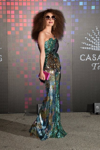 Amal Clooney attends Casamigos Halloween Party on October 27, 2017 in Los Angeles, California. (Photo by Splash News and Pictures)