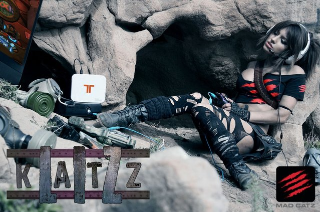 Liz Katz and Mad Catz Take Gaming to Epic New Levels