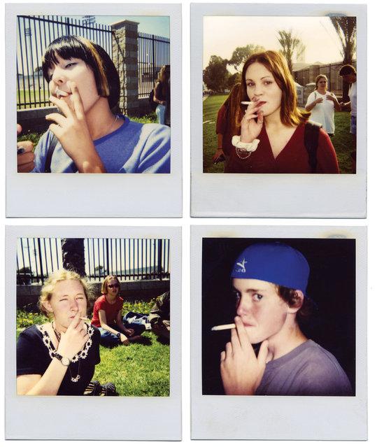 Polaroids, Huntington Beach, 1994. (Photo by Ed Templeton/Robert & Tilton Gallery, Culver City)