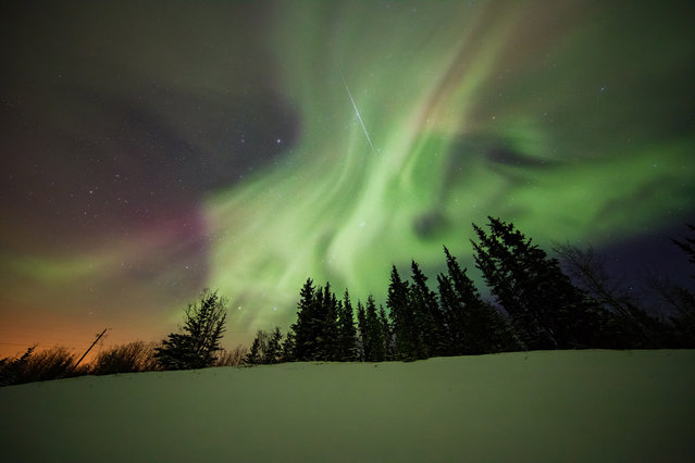 Neil also runs photography workshops that specialise in aurora imagery. (Photo by Neil Zeller/Caters News)