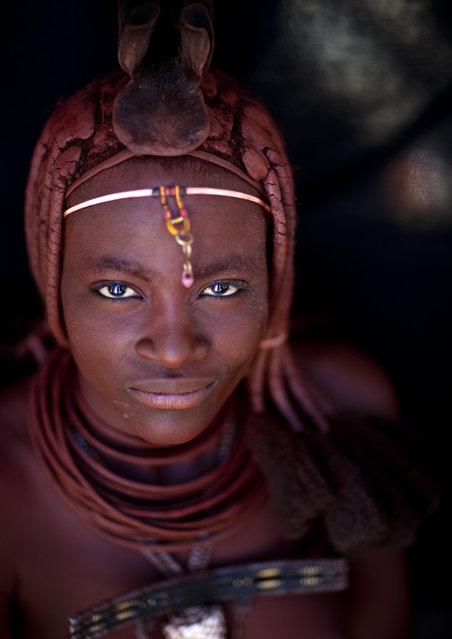 Himba Beauty Girl. Photo by Eric Lafforgue