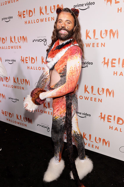 Jonathan Van Ness attends Heidi Klum's 20th Annual Halloween Party presented by Amazon Prime Video and SVEDKA Vodka at Cathédrale New York on October 31, 2019 in New York City. (Photo by Noam Galai/Getty Images for Heidi Klum)