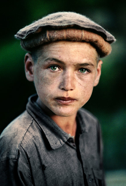 Nuristan province, 1992. A young village boy in northern Afghanistan. (Photo by  Steve McCurry/Taschen/Magnum Photos/The Guardian)