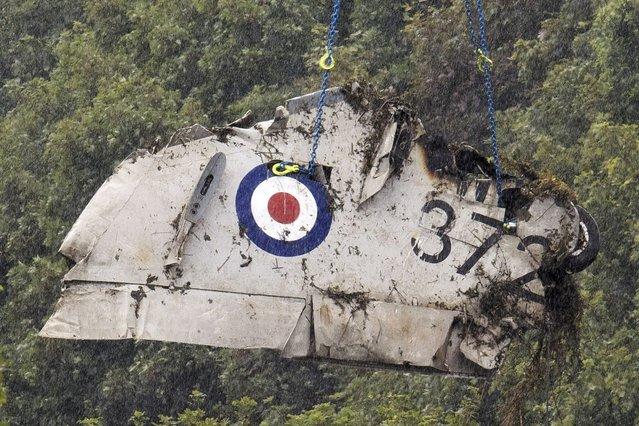 Shoreham Air Show Plane Crash