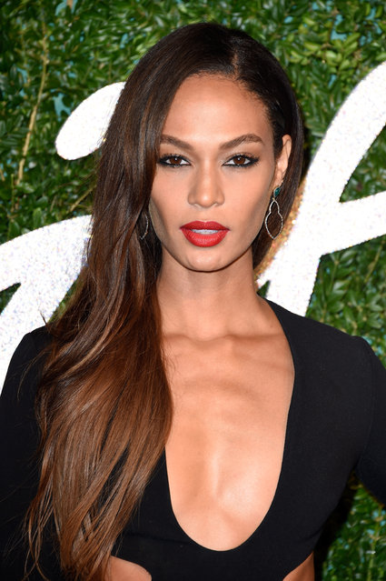 Joan Smalls attends the British Fashion Awards at London Coliseum on December 1, 2014 in London, England. (Photo by Pascal Le Segretain/Getty Images)