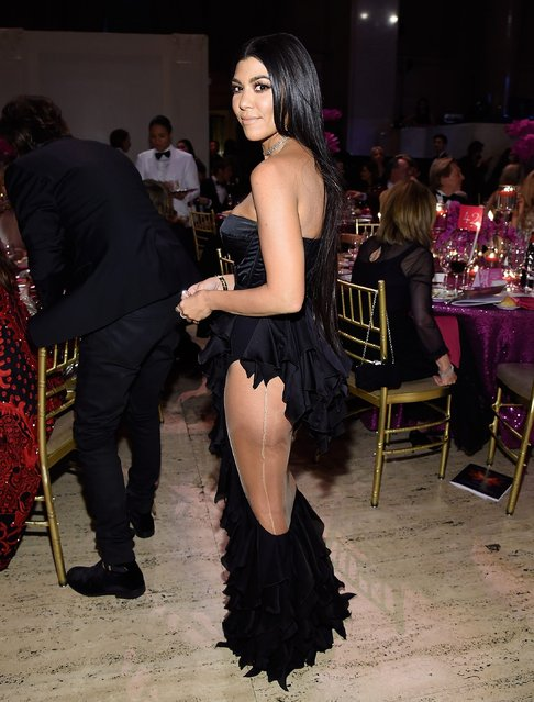 Kourtney Kardashian attends 2016 Angel Ball hosted by Gabrielle's Angel Foundation For Cancer Research on November 21, 2016 in New York City. (Photo by Kevin Mazur/Getty Images for Gabrielle's Angel Foundation)