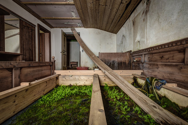 Inside a hotel in Austria. (Photo by Thomas Windisch/Caters News)