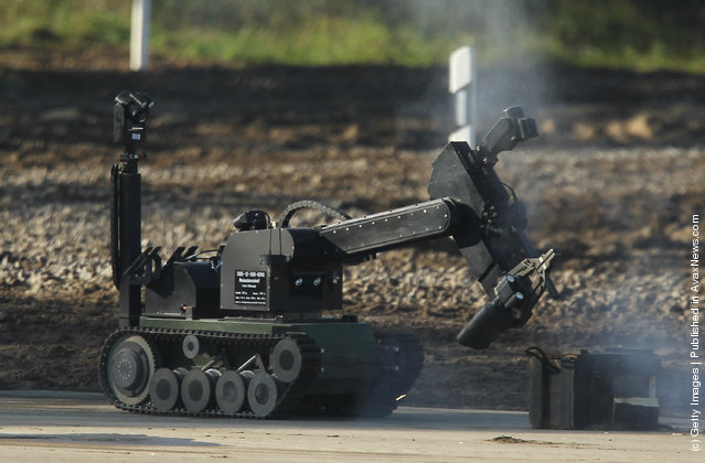 A Theodor robot of the German Bundeswehr