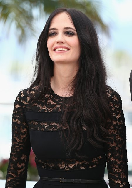 """Actress Eva Green attends the """"The Salvation"""" photocall at the 67th Annual Cannes Film Festival on May 17, 2014 in Cannes, France. (Photo by Andreas Rentz/Getty Images)"""