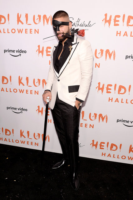 Maluma attends Heidi Klum's 20th Annual Halloween Party presented by Amazon Prime Video and SVEDKA Vodka at Cathédrale New York on October 31, 2019 in New York City. (Photo by Noam Galai/Getty Images for Heidi Klum)