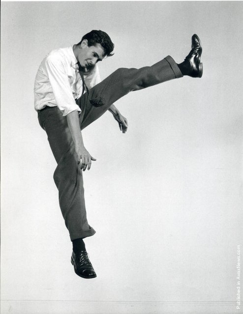 American actor Anthony Perkins, 1958. Photo by Philippe Halsman