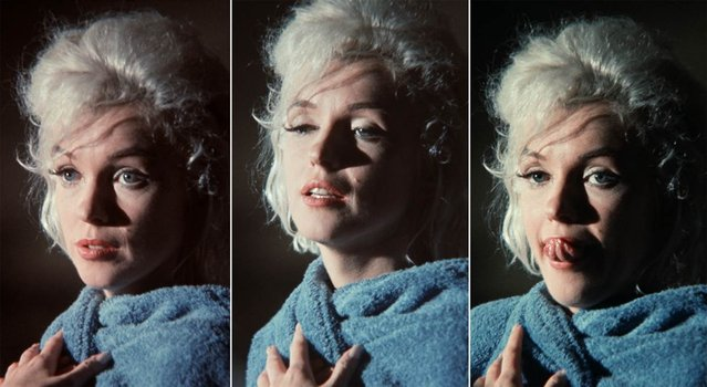 The 1962 shooting of Something's Got to Give was troubled by Marilyn's health problems; she showed up only 12 times out of 35 days of production