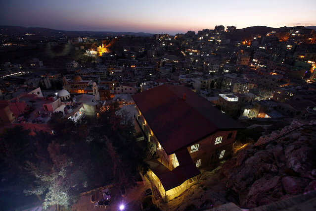 A general view shows the city of Saidnaya, near Damascus, Syria September 7, 2016. (Photo by Omar Sanadiki/Reuters)
