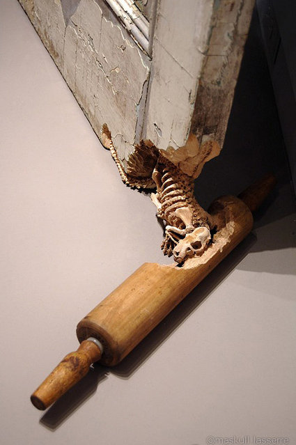 Skeletal Creatures Carved From Everyday Objects By Maskull Lasserre