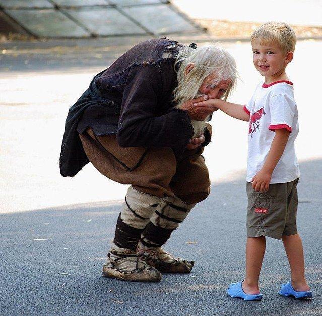 Grandpa Dobri - Beggar Charity