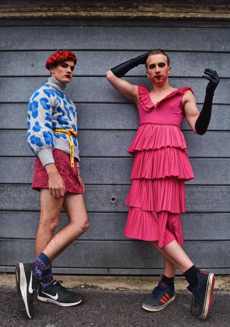 Reinvention and freedom of expression in teenagers. Fashion shortlist. (Photo by Freya Olivia Thomas-Taylor/@freyaaaart)